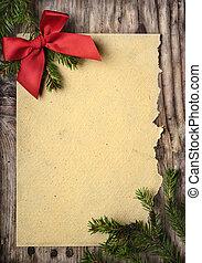圣誕節卡片, 問候