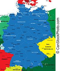 地圖, 政治, 德國