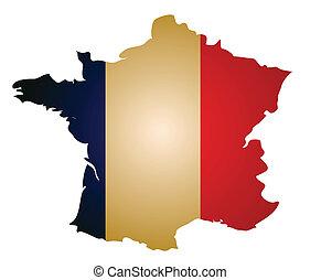 地圖, 法國