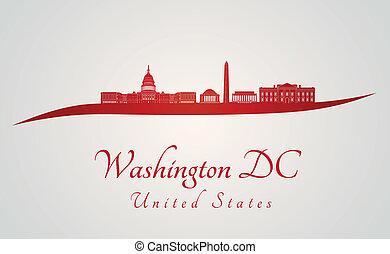 地平線, 華盛頓特區, 紅色
