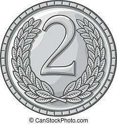 地方, 第二, 獎章