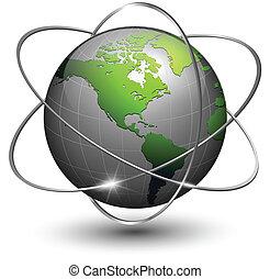 地球全球, 軌道