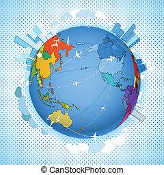 地球摘要, 生態學, 方案, 運輸
