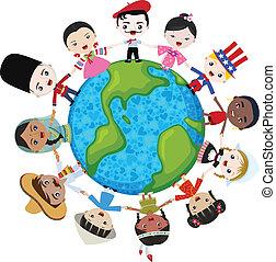 地球, 多文化, 孩子