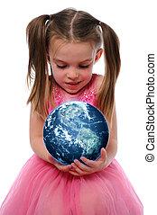 地球, 女孩, 藏品