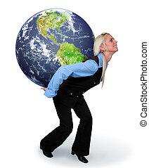 地球, 婦女藏品