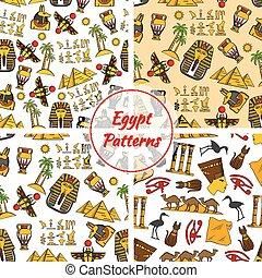 埃及, 文化, 古老, 圖樣