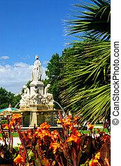 城市公園, nimes, 法國