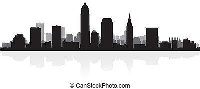 城市地平線, 黑色半面畫像, 克利夫蘭