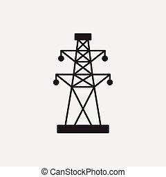塔, 電, 圖象