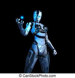 士兵, cyborg, 高階