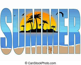 夏天, 標題