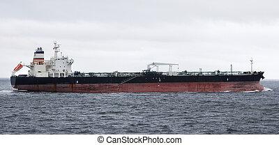 外形, 油船