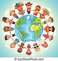 多文化, 字