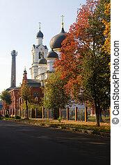 大教堂, 美麗, 突然顯現, noginsk., 建築物