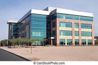 大的建築物, 現代, 辦公室
