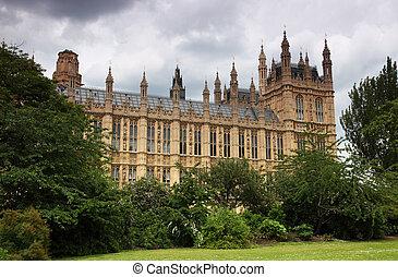 大約, been, westminster, 站點, 宮殿, 1000, 議會, 有, 皇家, london., 或者, 年, 房子