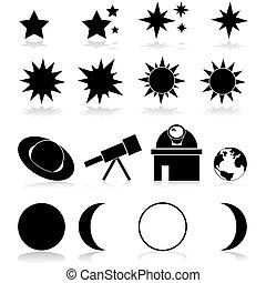 天文學, 圖象