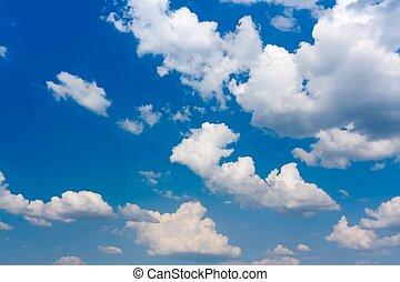 天空, 背景