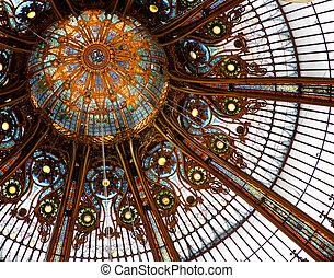 天花板, 畫廊, lafayette