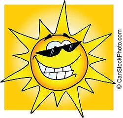 太陽鏡, 微笑太陽