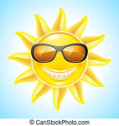 太陽, 卡通
