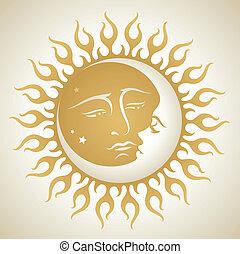 太陽, 月亮