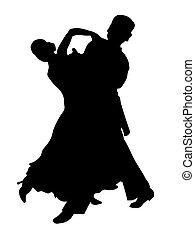 夫婦, 拉丁語, 跳舞