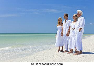夫婦, 海灘, 二, 代