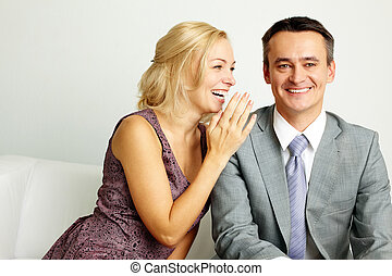 夫婦, 笑