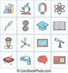 套間線, 研究, 圖象, 科學