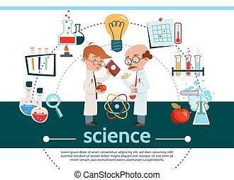 套間, 作品, 科學