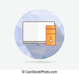 套間, 幾何學, 電腦圖示
