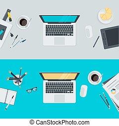 套間, 概念, 工作區, 設計