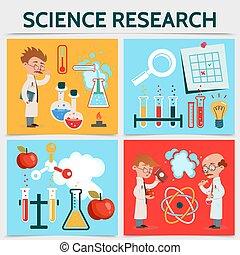 套間, 研究, 科學, 概念