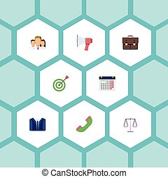 套間, 集合, 組, 目標, elements., 圖象, 組, 包括, 事務, 也, 矢量, 符號, 通告, objects., 隊, 日曆, 其他
