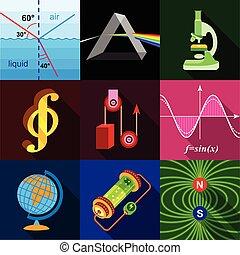 套間, 風格, 圖象, 集合, 科學, 研究