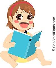 女嬰, 閱讀