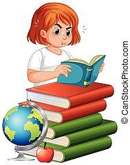 女孩讀物, 書, 肥胖