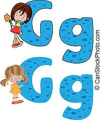女孩, 信 g