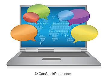媒介, 概念, 網際網路, 社會