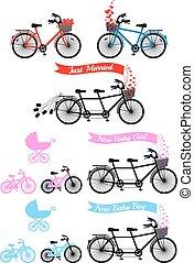 嬰兒送禮會, 串聯的自行車
