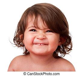 嬰孩, 有趣, 學步的小孩, 高興的表面