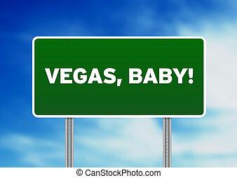 嬰孩, 高速公路 簽署, vegas