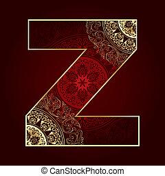 字母表, 植物, 打旋, 信, 葡萄酒, z