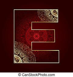 字母表, e, 植物, 打旋, 信, 葡萄酒