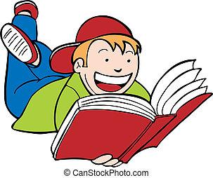 孩子閱讀書, 孩子