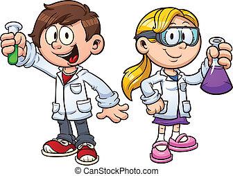 孩子, 科學
