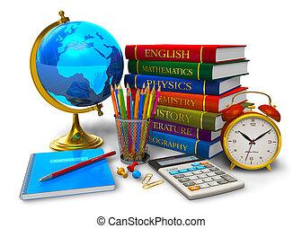 學校, 概念, 教育, 背