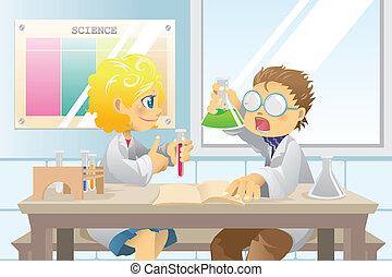 學生, 科學項目